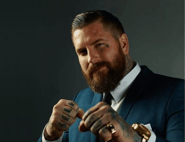 11 Classic Full Beard for college students