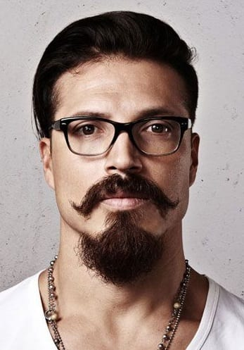 13 Mustaches To Compliment Your Goatee Beard Look