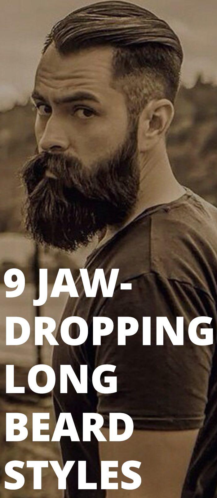 9 Jaw-Dropping Long Beard Styles