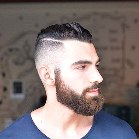 beard-grooming-guide-for-getting-full-beard-with-fade-hairstyle