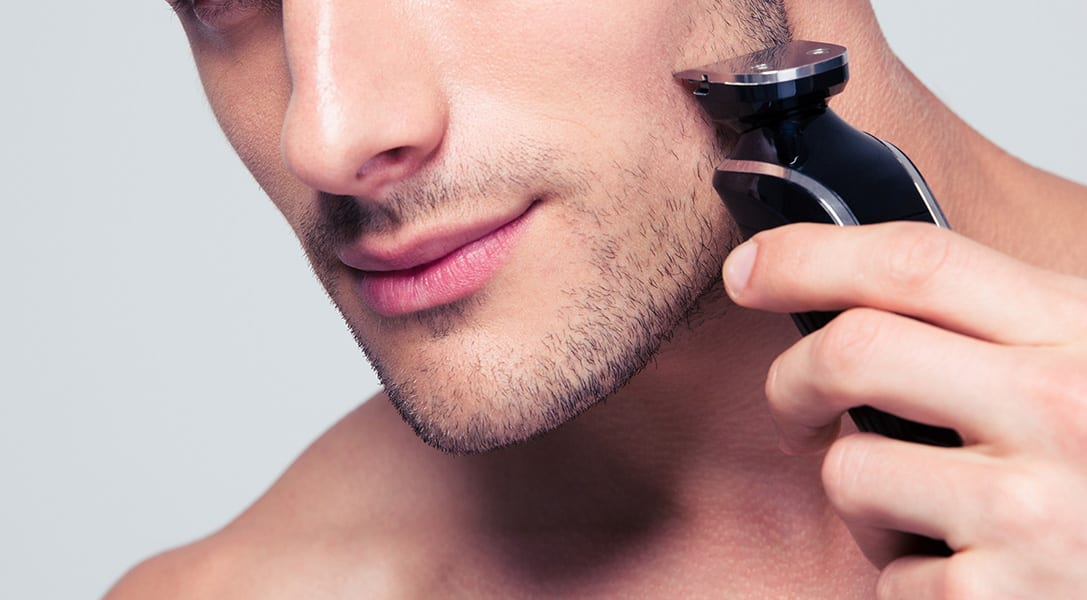 Beard trimmer close shave shaving trimming
