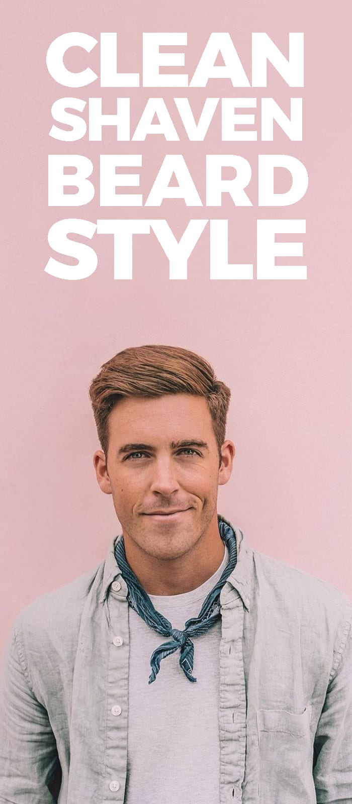 Clean Shaven Beard Style
