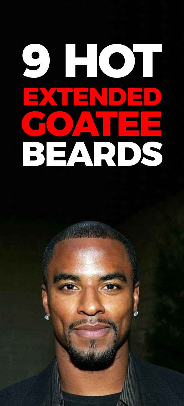 Extended Goatee Styles for men!