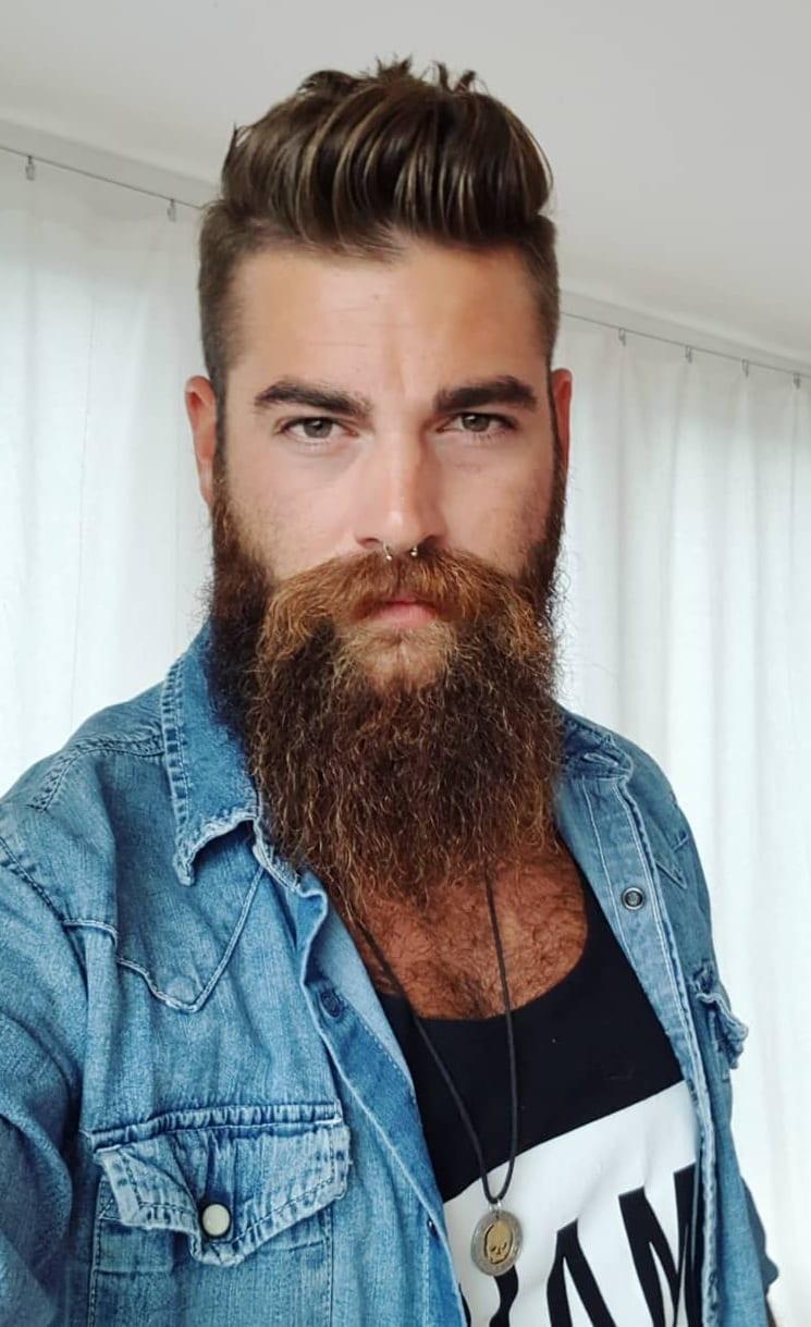 Long Beard Style for men Modern Gentlemen