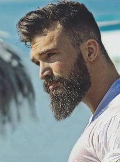 Mature Yet Sexy Beard Style- Ducktail Beard for men