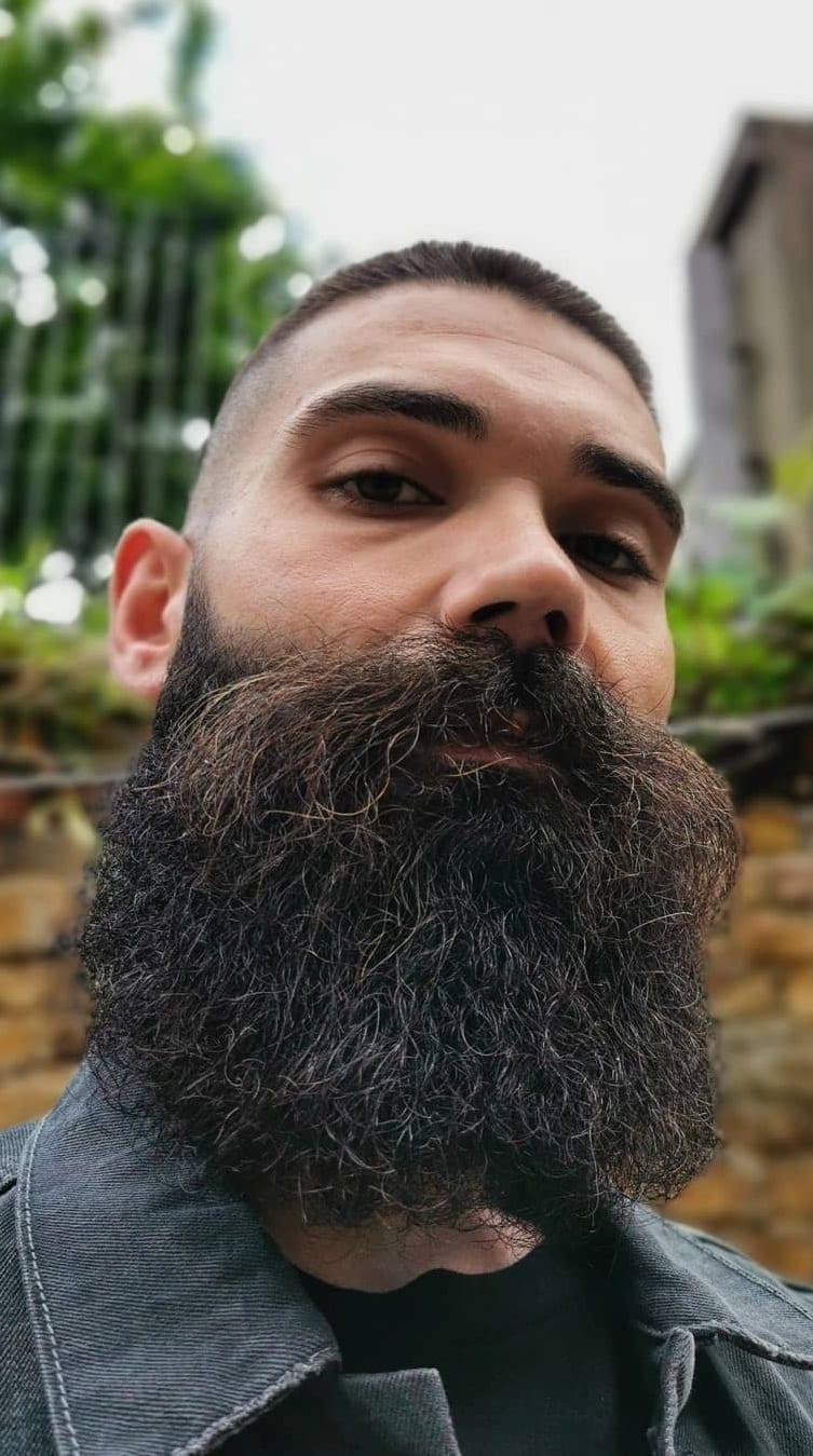 Neck Beard Style For Men