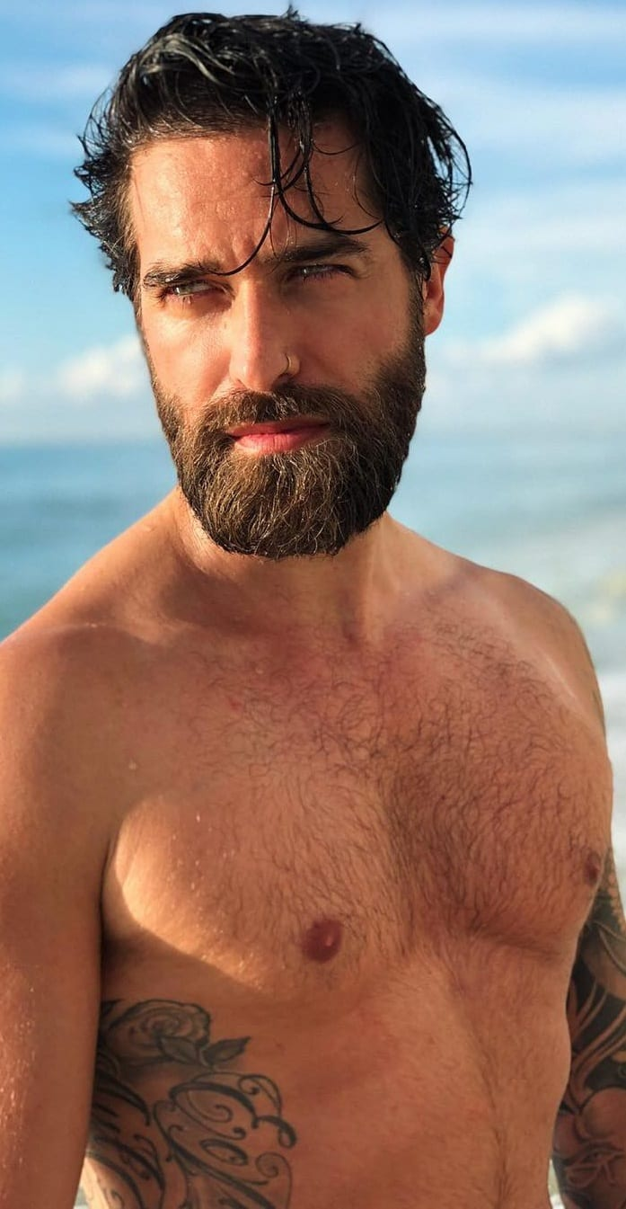 Neck Beard Style For Men!