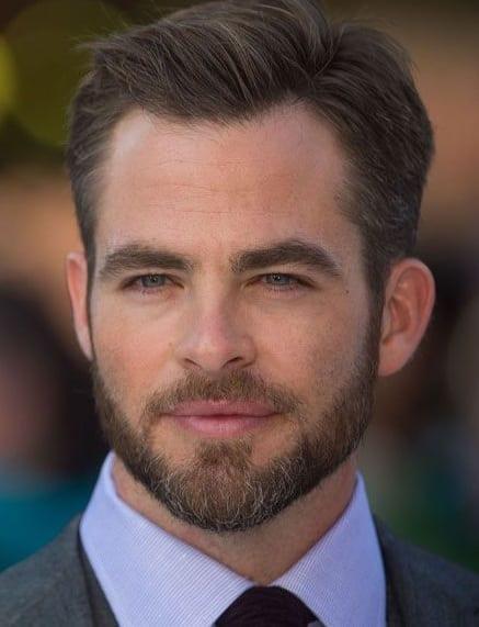 Short Boxed Beard Style for men