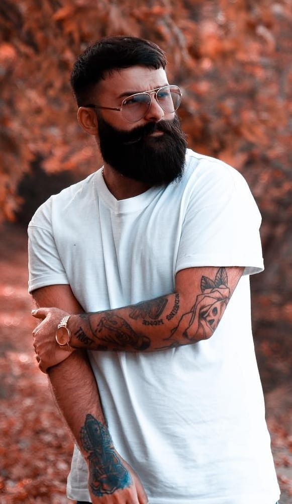 Thick Beard Styles for Men
