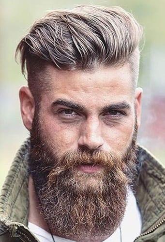 Undercut-Brush-Back-with-Full-BeardUndercut-Brush-Back-with-Full-Beard