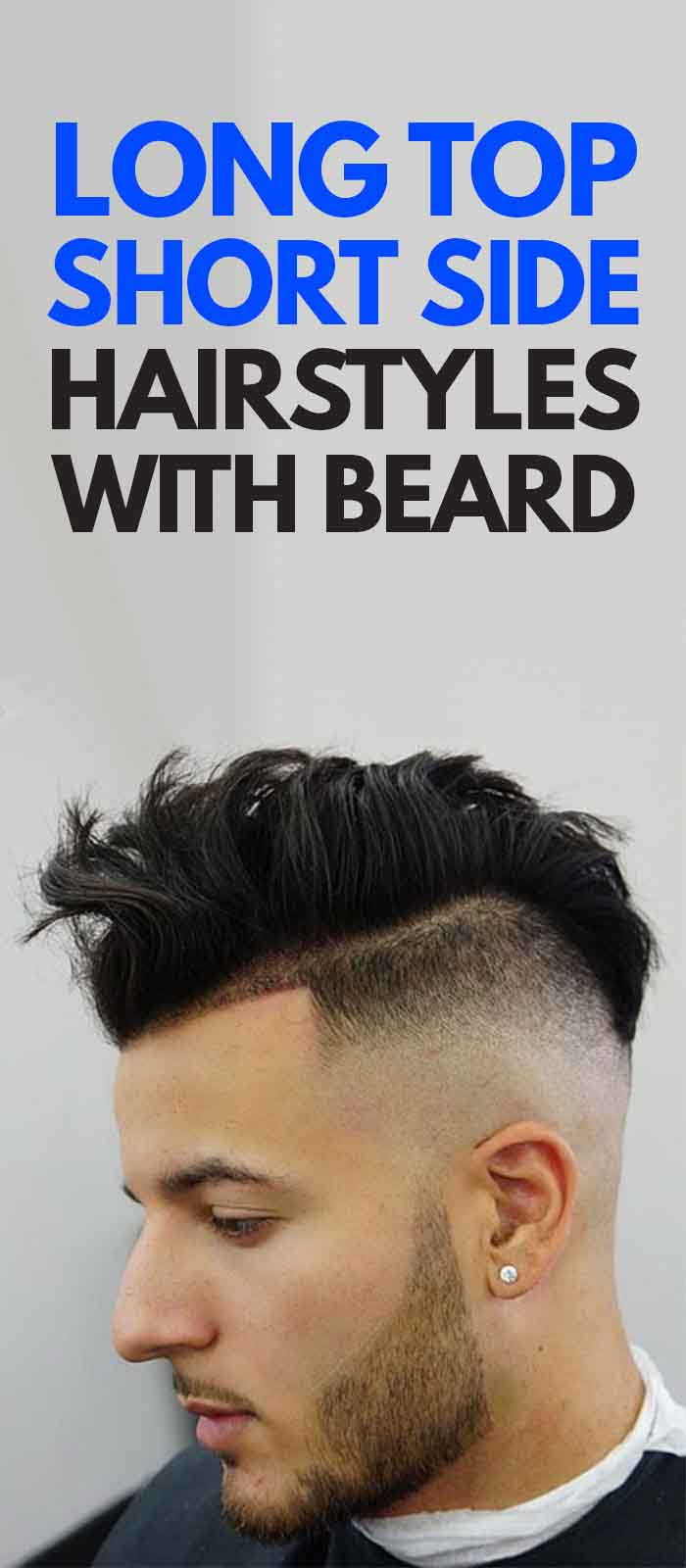 Undercut Haircuts Messy with beard!