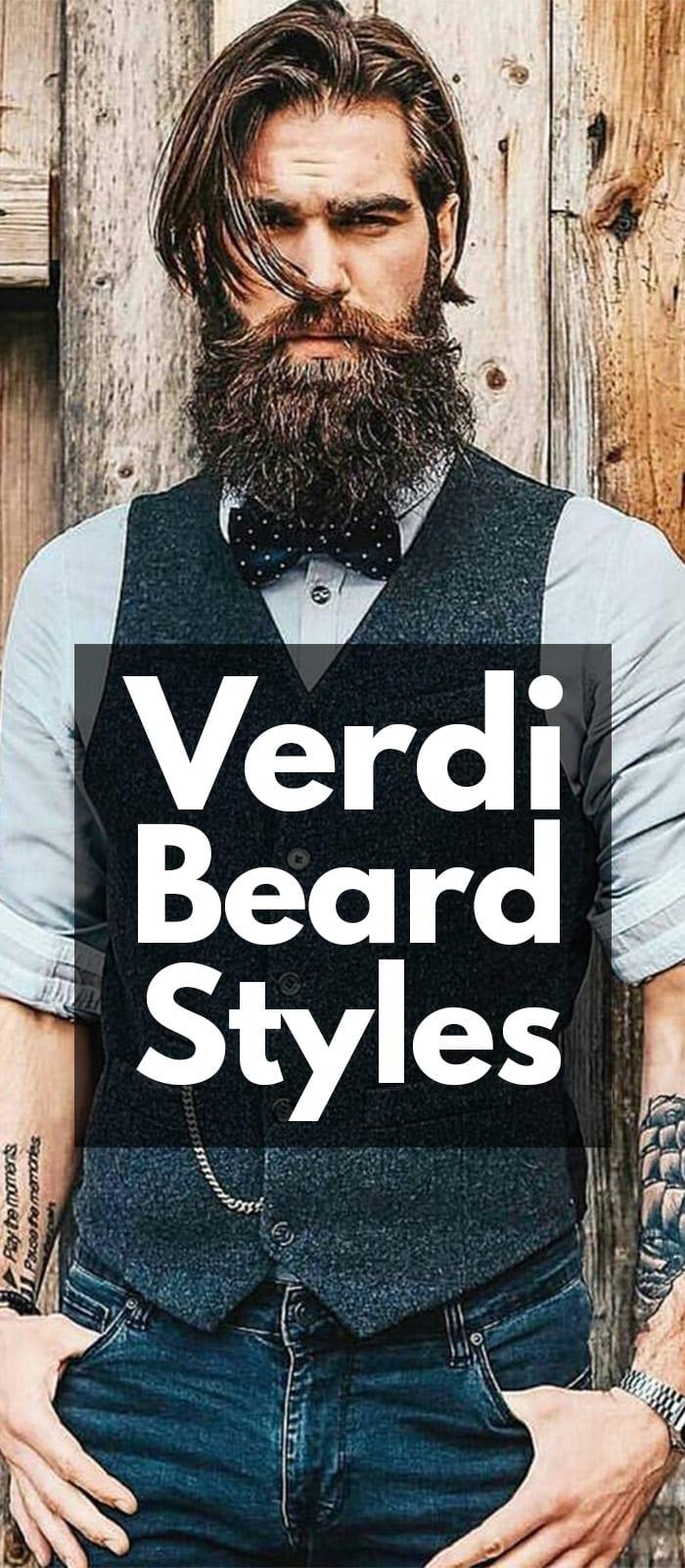 Verdi Beard Styles