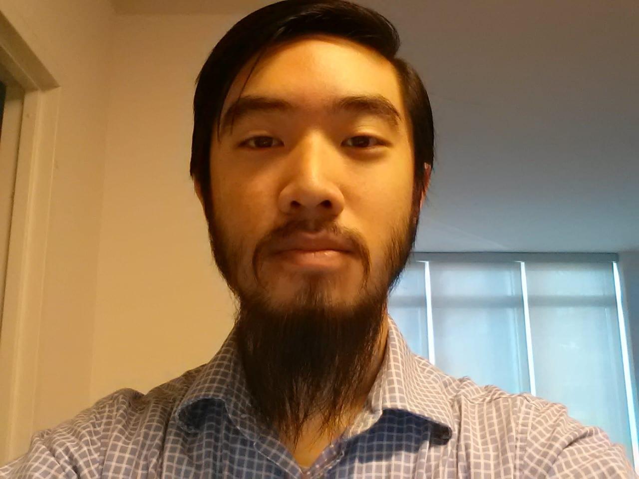 fu manchu moustache men asian
