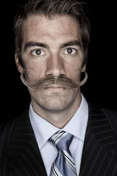 professional look imperial moustache