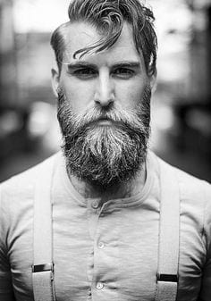 sexy long beard