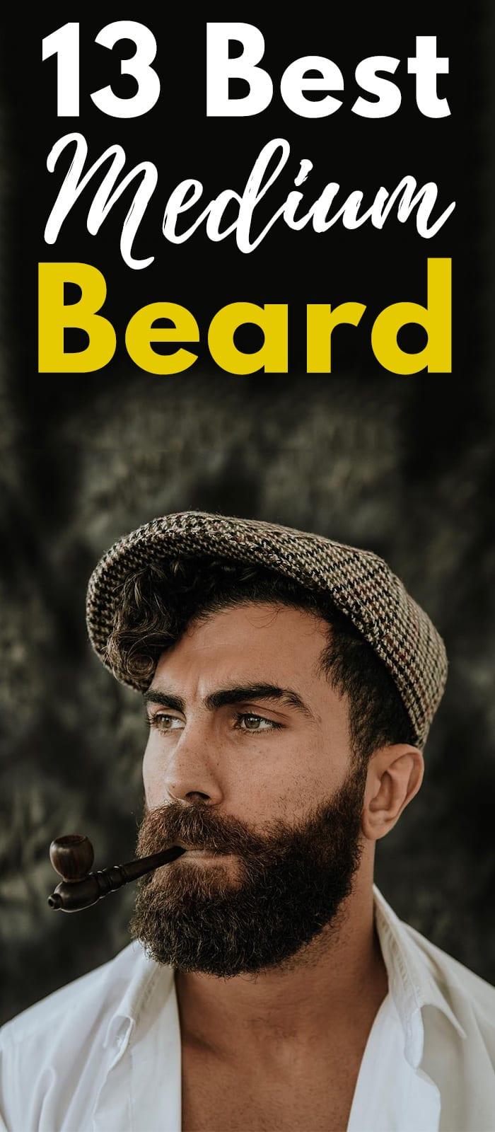 13 Best Medium Beard.