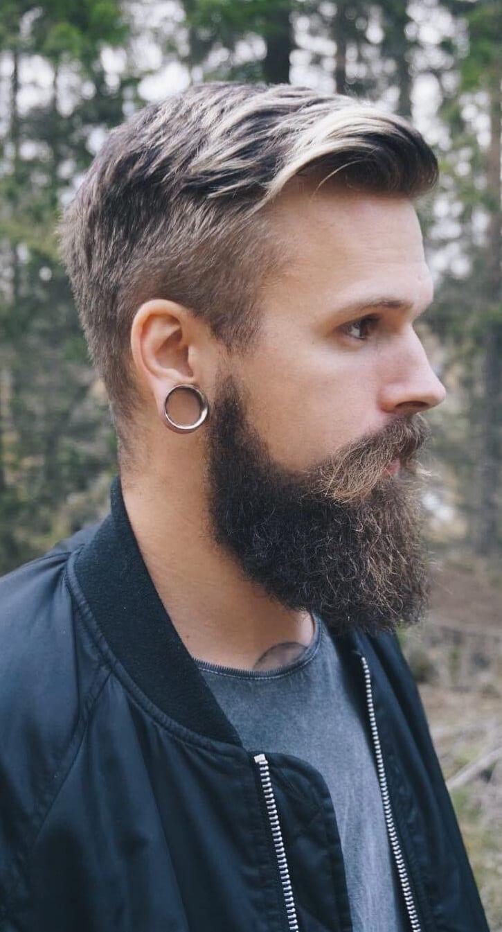 Long beard styles for men