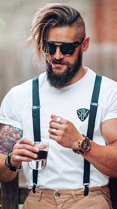 Ducktail Beard Style for Men to try in 2020