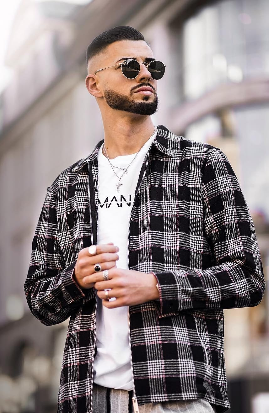 Men's Short Beard Style 2020