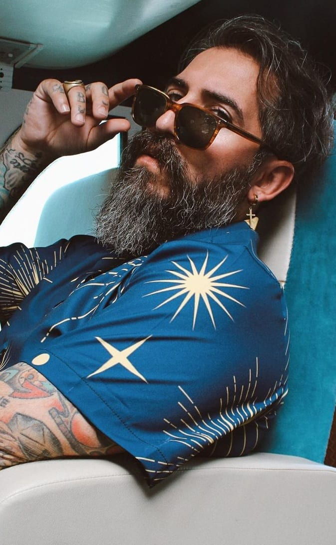 Trendy and Cool Bandholz Beard Style for Men