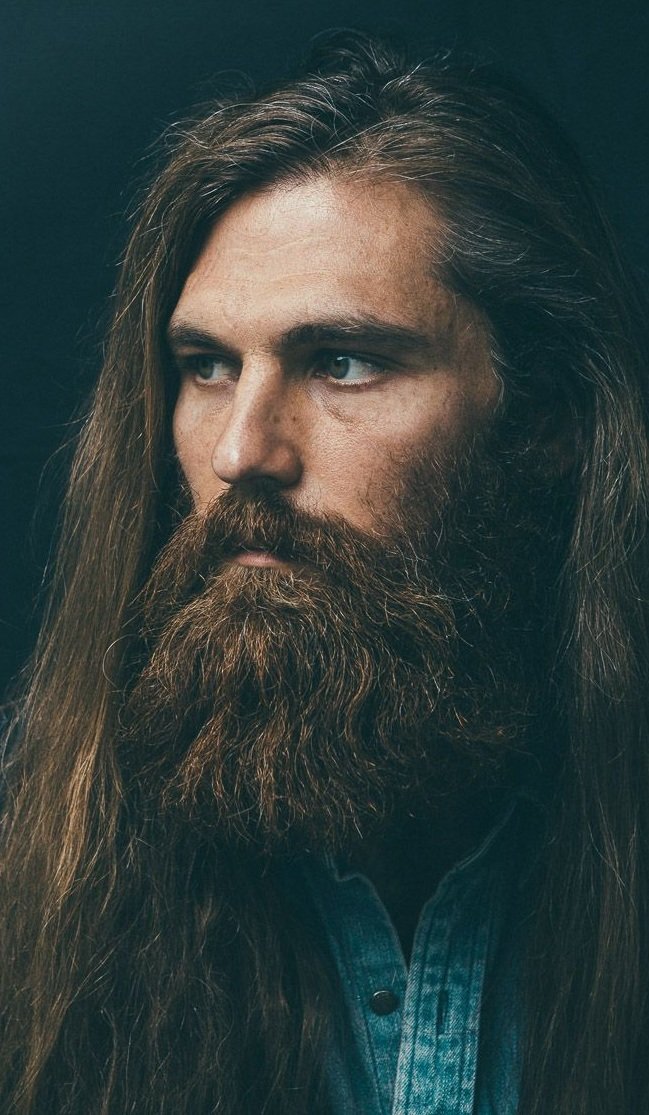 Long Hair And Long Beard Combination