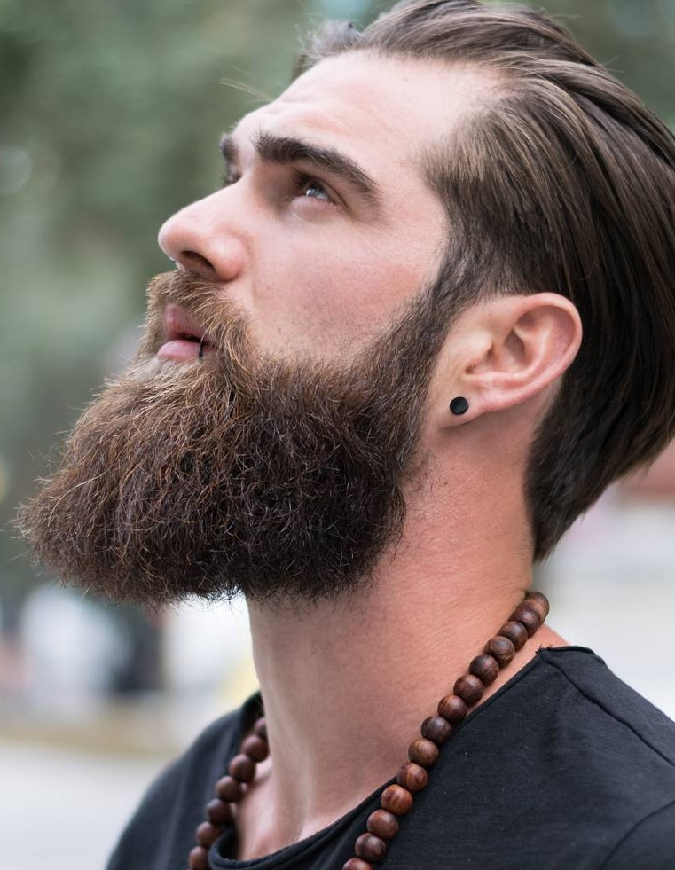 Thick and Bushy Beard Styles for Men