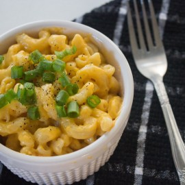 Slow Cooker Mac + Cheese