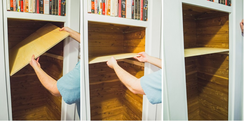 Closet to Bookshelf