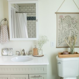 Home Tour: Our Main Bathroom