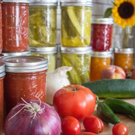 Preserving Summer Produce: Resources + A Few Canning Recipes