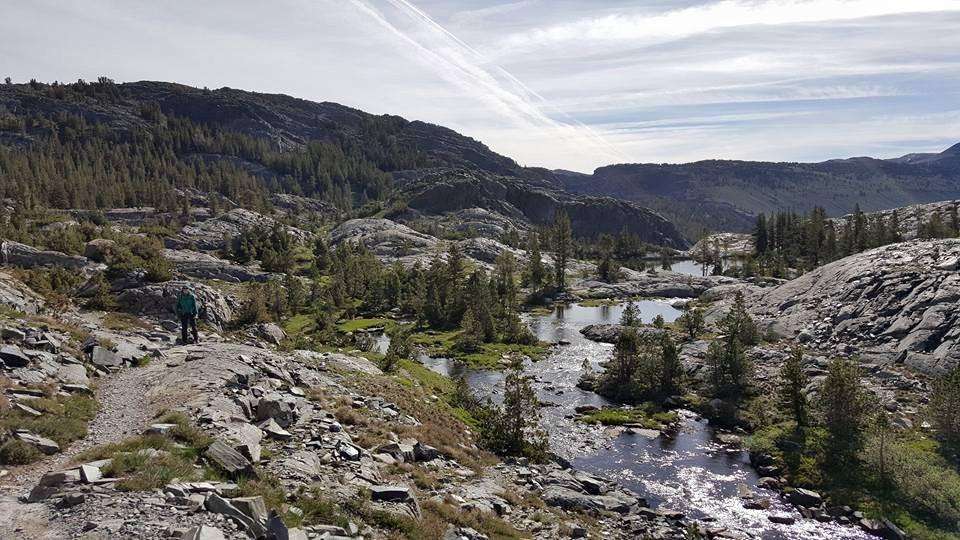 Thousand Island Lakes Loop; Mammoth, California