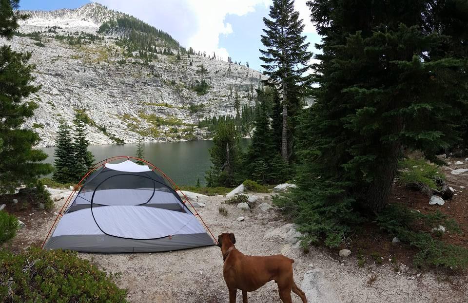 Emerald Lake, Caribou Lakes Trail, Trinity Alps Wilderness, California