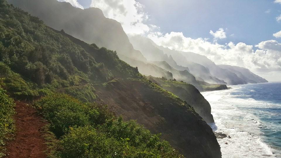 Adventures in Kauai on a Budget, Kalalau Trail in Napali Coast, Kauaii