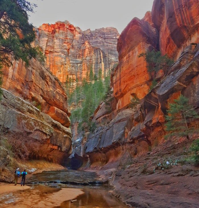 The Subway Hike, Zion National Park, Utah