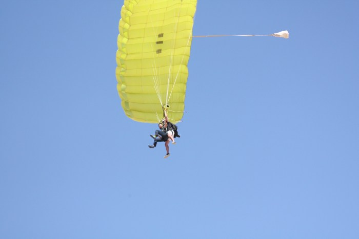 Skydiving, Swakopmund Sky Diving Club, Namibia