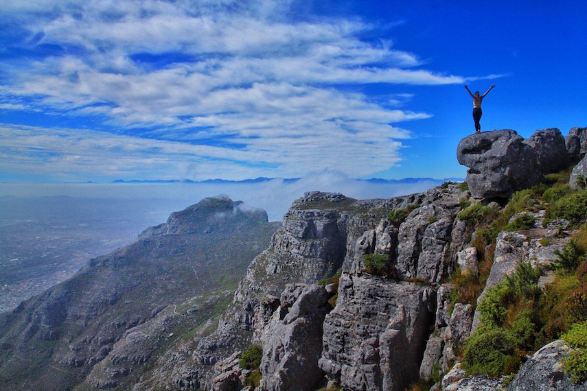 Table Mountain Hiking, Cape Town, South Africa