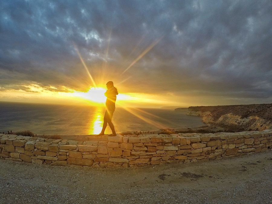 Cyprus, Ruins, Sunset, Where Have We Been, Where Have We Been?