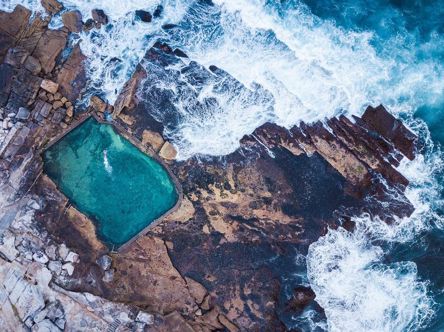 Mahon Pool, Sydney's Top 10 Rockpools, Best Rockpools in Sydney, Top 10 Natural Ocean Pools in Sydney, Best Ocean Pools Sydney, beardandcurly.com