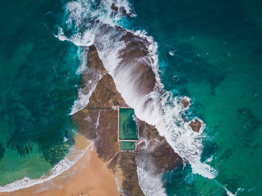 Mona Vale rock pool, Sydney, most Instagrammed spots in Australia, 25 Most Instagrammable Places in Australia, Most Instagrammable Spots in Australia, Instagram Australia, Instagram Tasmania, Instagram New South Wales, Instagram Queensland, Instagram Northern Territory, Instagram South Australia, beardandcurly.com