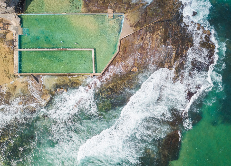 North Narrabeen Rockpool, Sydney's Top 10 Rockpools, Best Rockpools in Sydney, Top 10 Natural Ocean Pools in Sydney, Best Ocean Pools Sydney, beardandcurly.com