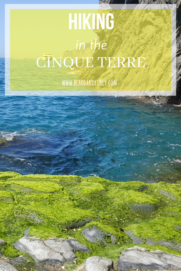 Hiking in the Cinque Terre, The Italian Riviera, Beach, Coastline, Coastal Hike, #cinqueterre #italy #europe #hike www.beardandcurly.com