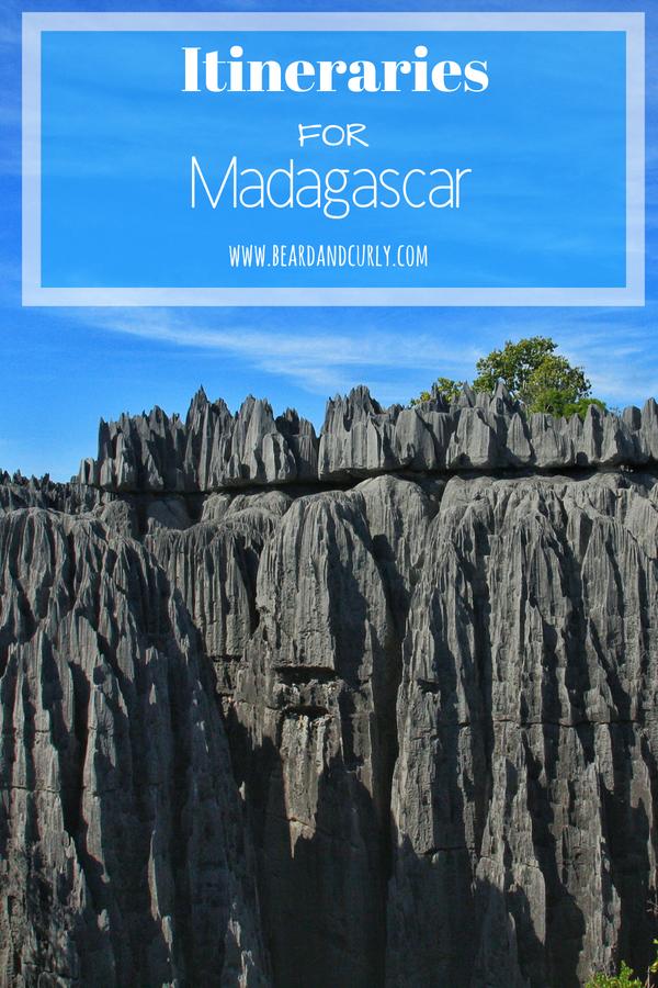 Trip Itineraries for Madagascar, Baobabs, Tsingy, Rainforest, Lemurs, #holiday #backpacking #lemur #rainforest #madagascar www.beardandcurly.com