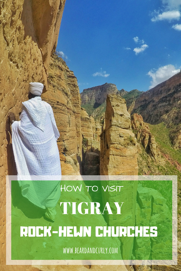 Visiting the Tigray Rock-Hewn Churches. Hiking, Religion, Christ, Christianity, Churches, Tigray, Ethiopia #religion #hiking #churches #ethiopia #travel www.beardandcurly.com