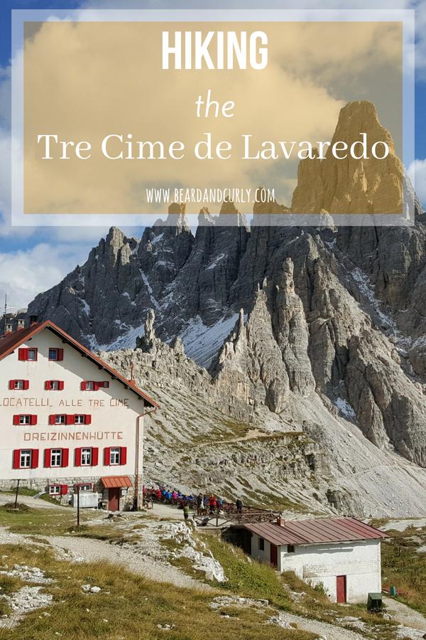 Hiking the Tre Cime de Lavaredo, Dolomites, Italy, Italian Dolomites, Hiking, Alpine, Mountains, Lakes, Via Feratta #hiking #italy #dolomites www.beardandcurly.com