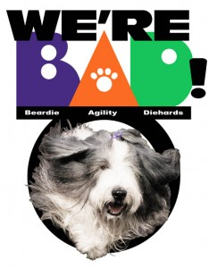 BAD logo by Gretchen Blackburn from a photo by Bill Newcomb.