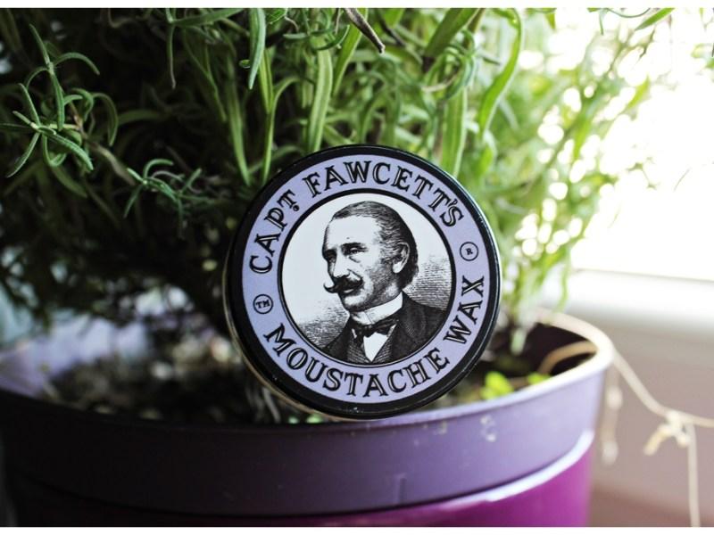 Capt. Fawcett's Moustache Wax (Lavender) – recenzja