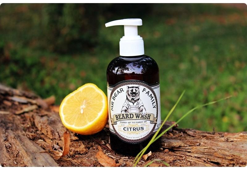 Mr Bear Family Beard Wash (Citrus) – recenzja