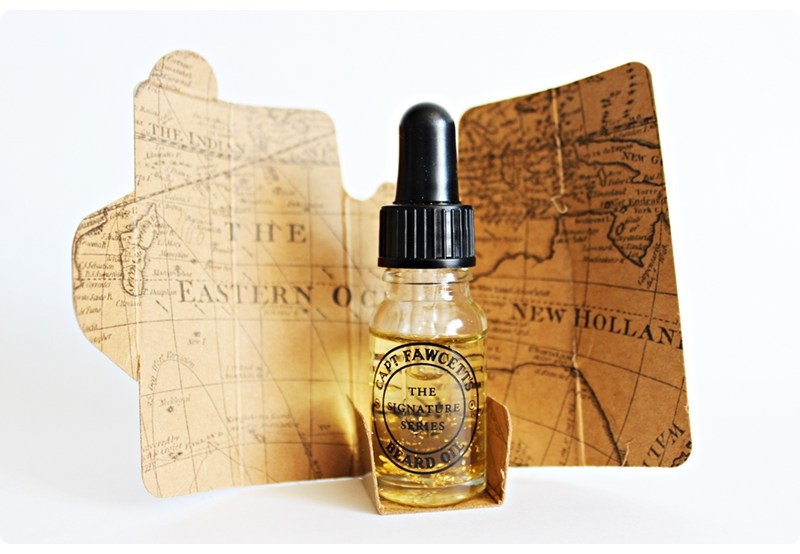 Capt. Fawcett's x Beard Season The Million Dollar Beard Oil – recenzja olejku do brody