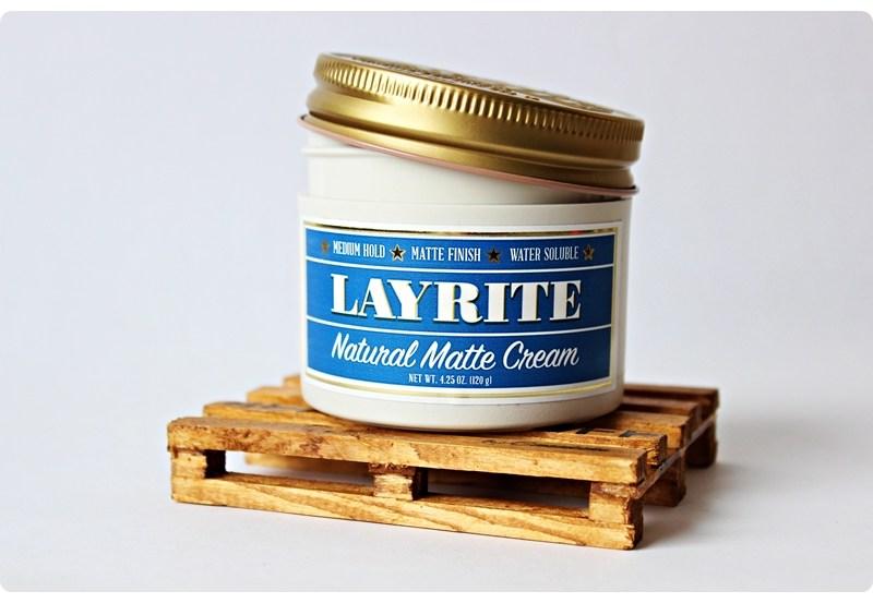 Layrite Natural Matte Cream – recenzja kremu do włosów