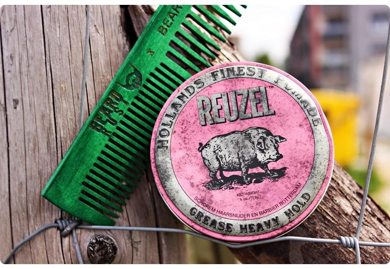 Reuzel Grease Heavy Hold Pomade (Pink) – recenzja woskowej pomady do włosów